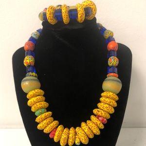 Necklaces with bracelets